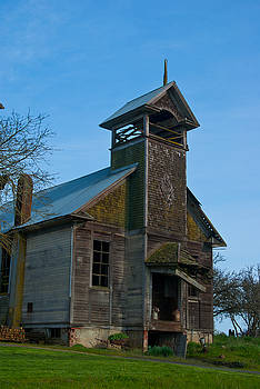 Old Time School House by Sharon Crawford
