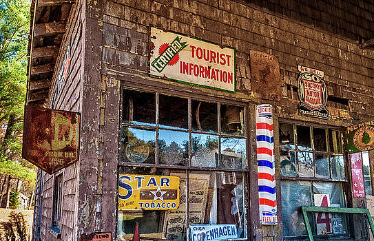 Old Time Storefront by Gary Shepard