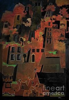 Old Town by Adalardo Nunciato  Santiago