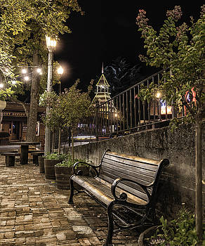 Old town Auburn street side Park by Mark Chandler