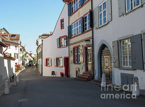 Old town Basel Switzerland by Louise Heusinkveld