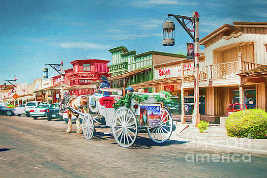 Old Town Charms by Desert Images