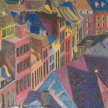 Old Town by Lucinda  Hansen