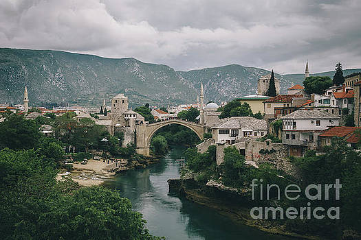 Old Town of Mostar by JR Photography