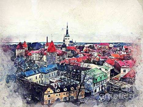 Justyna Jaszke JBJart - Old Town of Tallinn