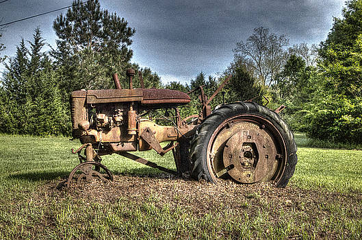 Old Tractor by BG Flanders