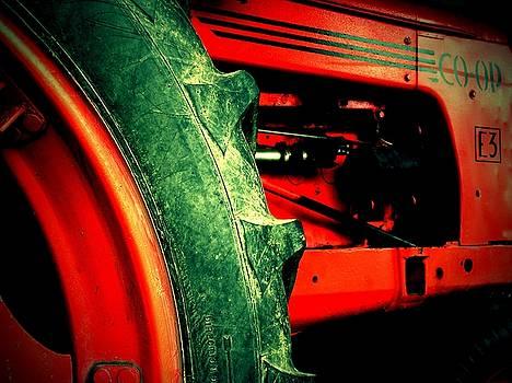 Old Tractor by Kenneth Krolikowski