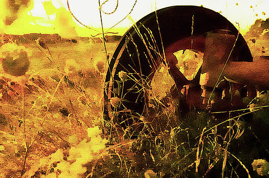 Old Tractor  by Paul Cullen