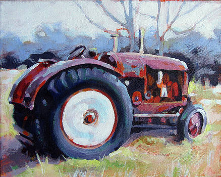 Old Tractor by Renee Peterson