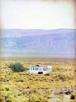Jill Battaglia - Old Trailer in the Desert