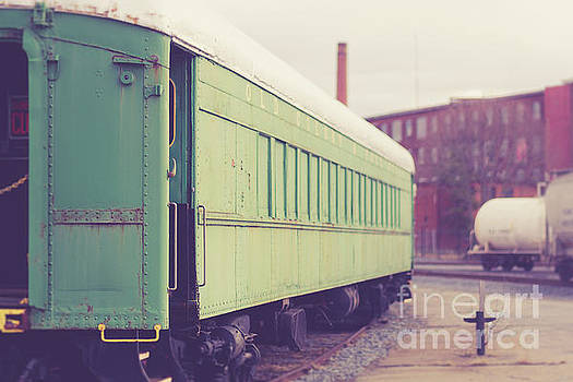 Edward Fielding - Old Train Car Fall River