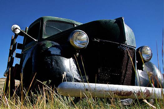 Old Truck at Bodie 1 by Chris Brannen