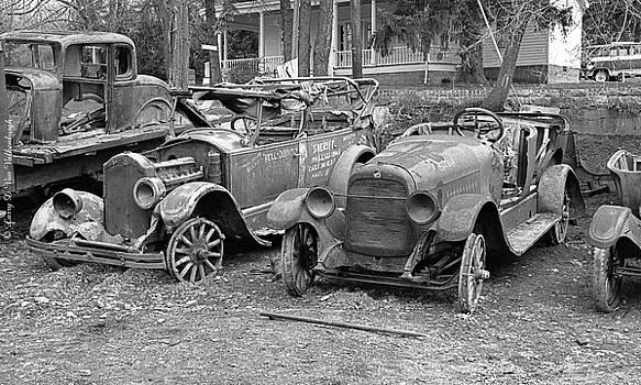 Old Truck Boneyard by Larry Van Valkenburgh