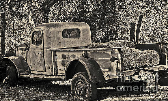 Old Truck by Frank Stallone