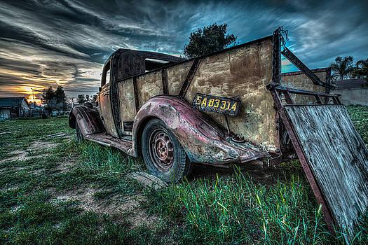 Rick Strobaugh - Old Truck in Back Yard