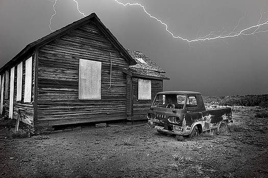 Old Truck in Nevada by Donna Caplinger