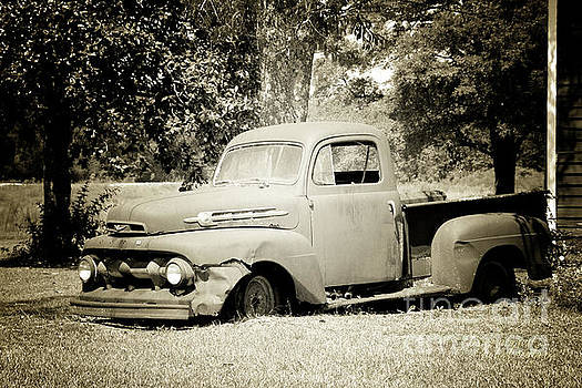 Old Truck by Inspirational Photo Creations Audrey Woods