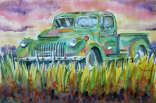 Old Truck by Marisa Gabetta