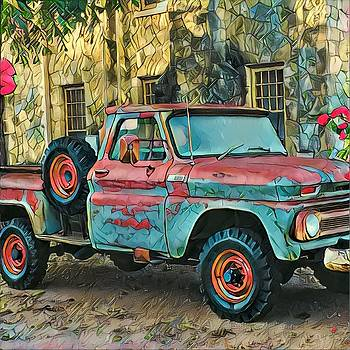 Old Truck by Patricia Rex