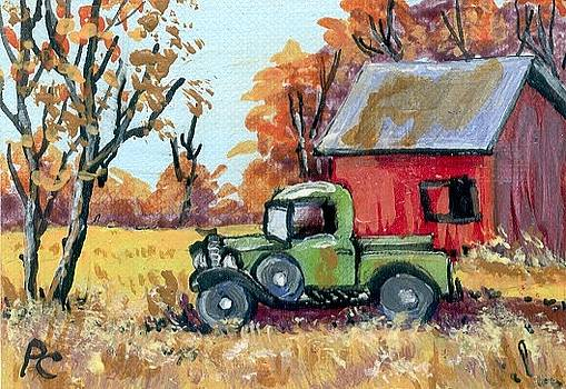 Old Truck by Peggy Conyers