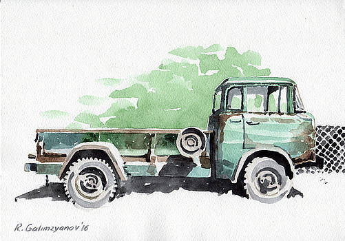 Old truck by Rimzil Galimzyanov