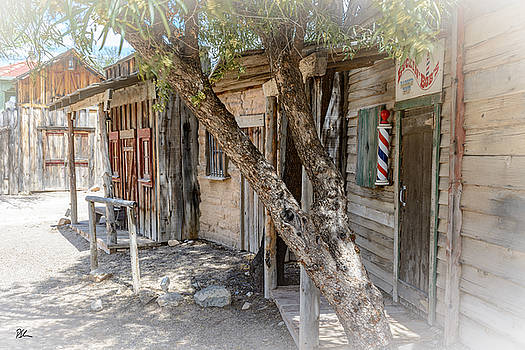 Old Tucson Barber by Pat Scanlon