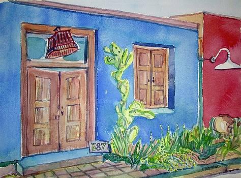Old Tucson by Virginia Vovchuk
