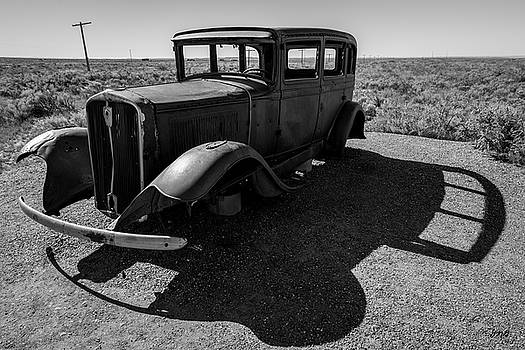 David Gordon - Old Vehicle VI BW