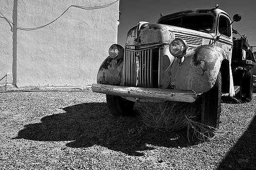 David Gordon - Old Vehicle VII  BW - Ford Truck