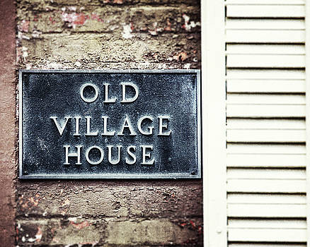 Old Village House Photograph by Lisa Russo
