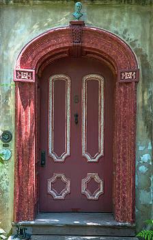 Dale Powell - Old Vintage Red Door