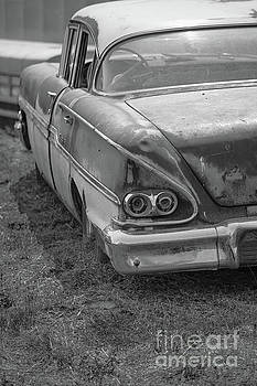 Edward Fielding - Old Vintage Sedan BW Utah
