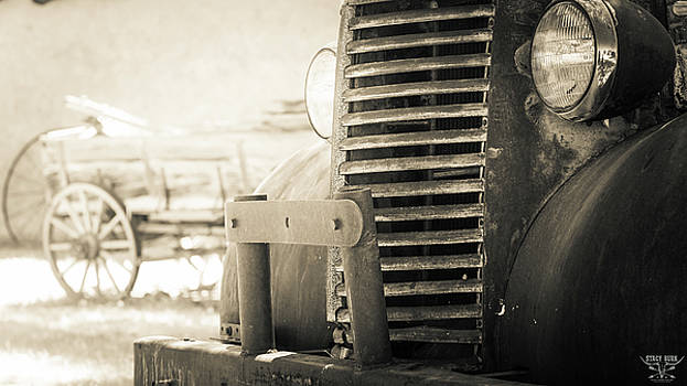 Old Vintage Truck by Stacy Burk