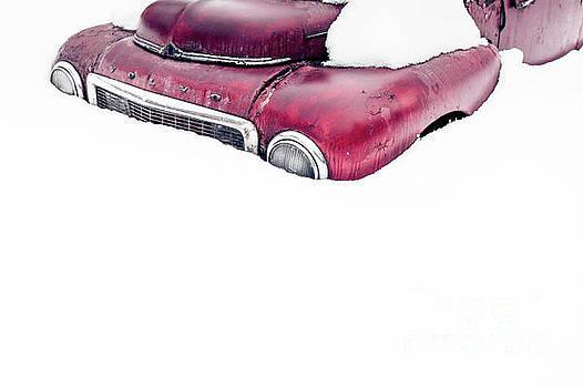 Old Volvo in the Snow II by Edward Fielding