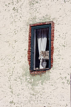 Old Wall and Window by Andrew Kazmierski