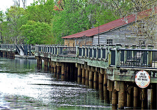 Old Warehouse On The River Conway South Carolina by Joey OConnor
