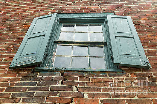 Old Warehouse Window by George Sheldon