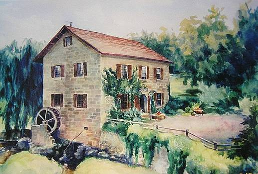 Old Water Mill by Tamara Keiper