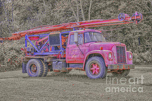 Randy Steele - Old Well Drilling Truck