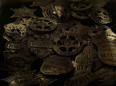 Old West Badges by Sherry Vance
