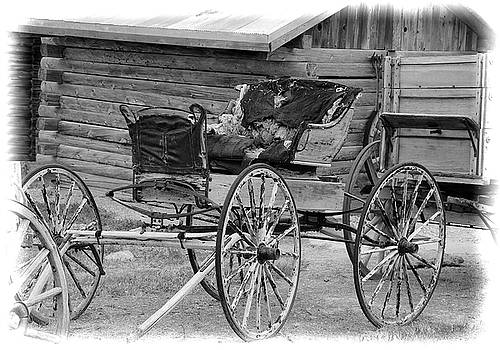 Old West Buggy by John Freidenberg