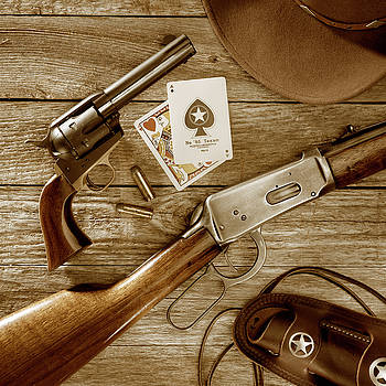 Jerry McElroy - Old West Weapons in Sepia