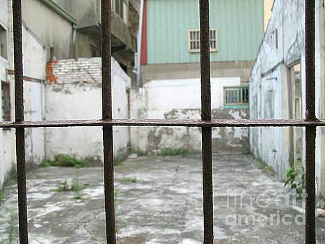 Old Window Iron Bars by Yali Shi