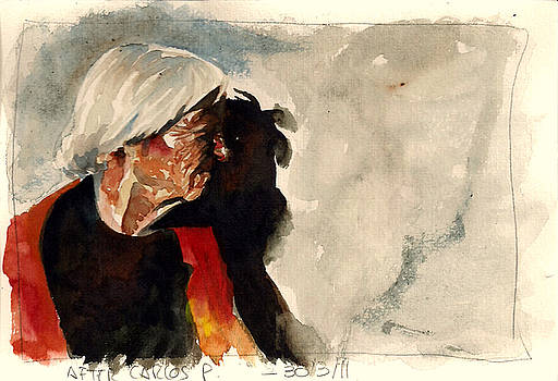 Old woman by Tayete Garcia