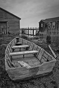 David Gordon - Old Wooden Boat BW