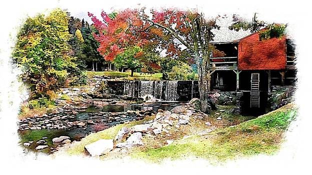 Old Wooden Mill by Joseph Hendrix