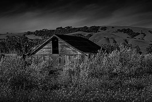 Old Working Barn by Bruce Bottomley
