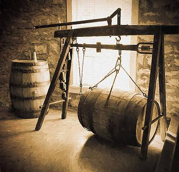 Old World Barrels by Karen Varnas