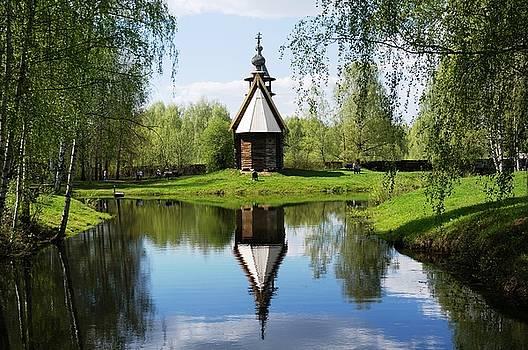 Old World Church by Julia Ivanovna Willhite