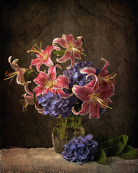Old World Floral by Jerri Moon Cantone
